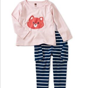 Tea Collection 3T Outfit NWT